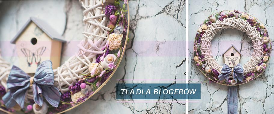 tła dla blogerów
