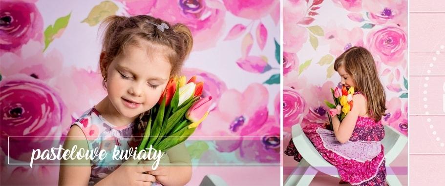Tła fotograficzne kwiaty